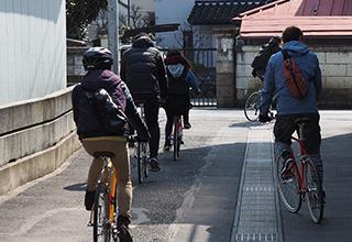 町中サイクリング